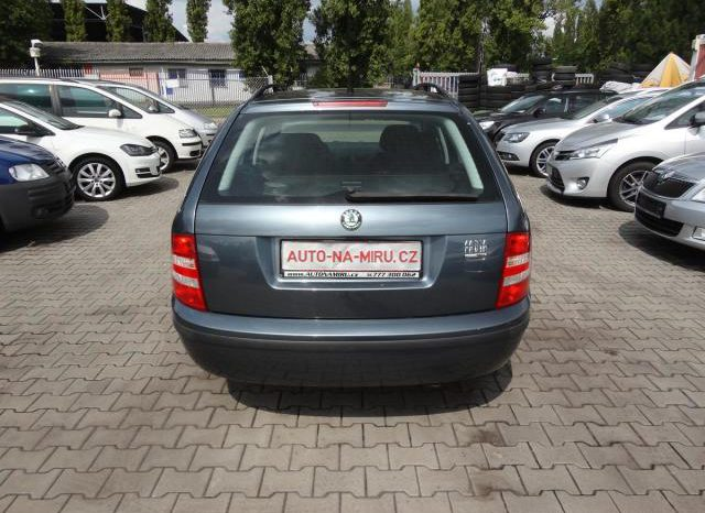 Škoda Fabia 1.4 55kw CLASSIC klima ESP TOP full