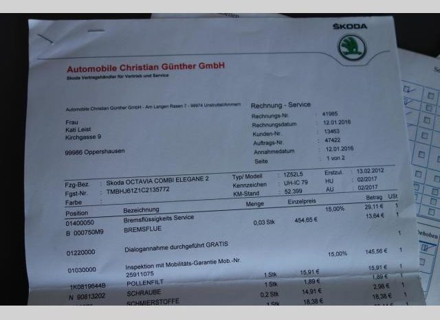 Škoda Octavia 1.4TSI 90Kw FAMILY EDITION PDC full