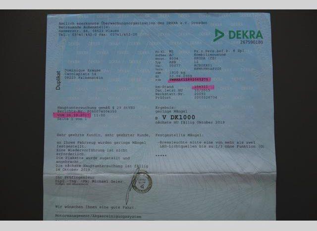 Škoda Octavia 1.6MPI 75kw AMBIENTE FACELIFT full