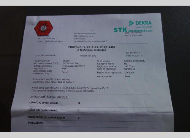Škoda Octavia 1.6MPI 75kwAMBIENTE Climatroni full