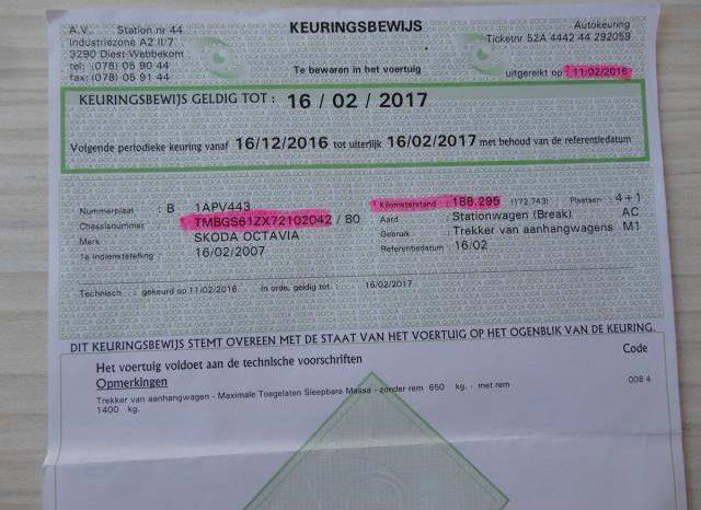 Škoda Octavia 1.9TDI 77kw ELEGANCE NAVI TOP full