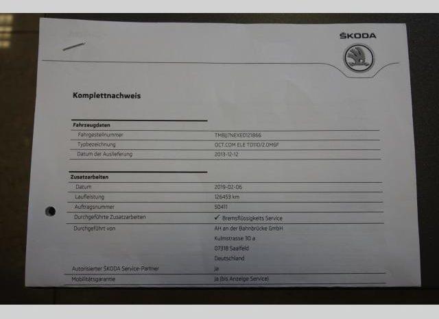 Škoda Octavia 2.0TDI110 kw ELEGANCE PDC TOP full