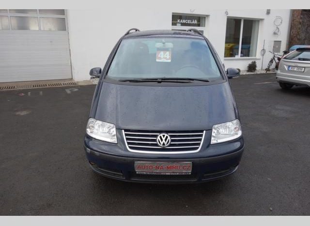 Volkswagen Sharan 1.8T 110kw BLUE EDITION TOP A1 full